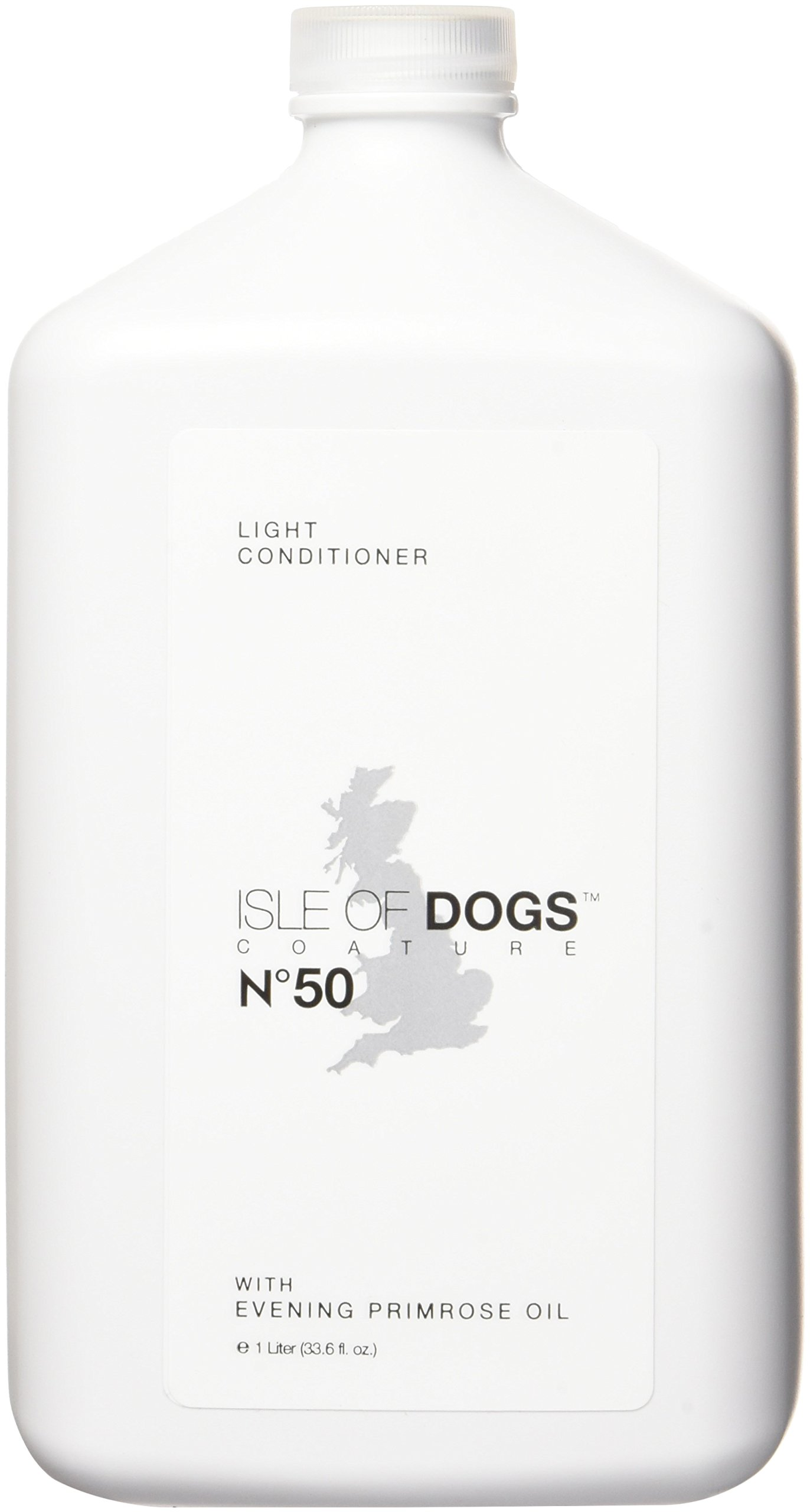 Isle of Dogs Coature No. 50 Light Management Dog Conditioner for Dry Hair, 1 liter by Isle of Dogs