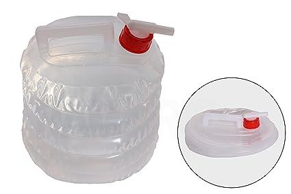 Amazon.com : Collapsible Water Jug (5 Quarts/1.25 Gallon) Camping ...