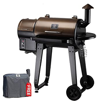 Z GRILLS Upgrade Wood Pellet Offset Smoker