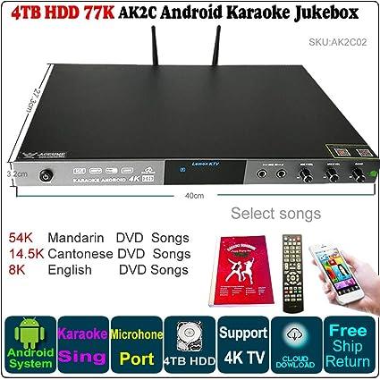 Amazon com: 4TB HDD 77K Chinese(Mandarin,Cantonese),English