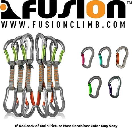 Fusion Climb 6-Pack de 11cm Quickdraw Set con Zoom Techno ...