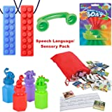 Speech Language Materials for Kids and Adults | Phonological Awareness, English Second Language, Oral Motor Therapy Tools, Phonics, Articulation, Vocabulary Resources| Special Education Supplies