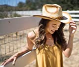 Livingston Men & Women's Woven Straw Cowboy Hat