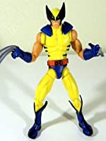 """Marvel Legends WOLVERINE (classic costume) review 6"""" inch (Hasbro) red hulk baf series version"""