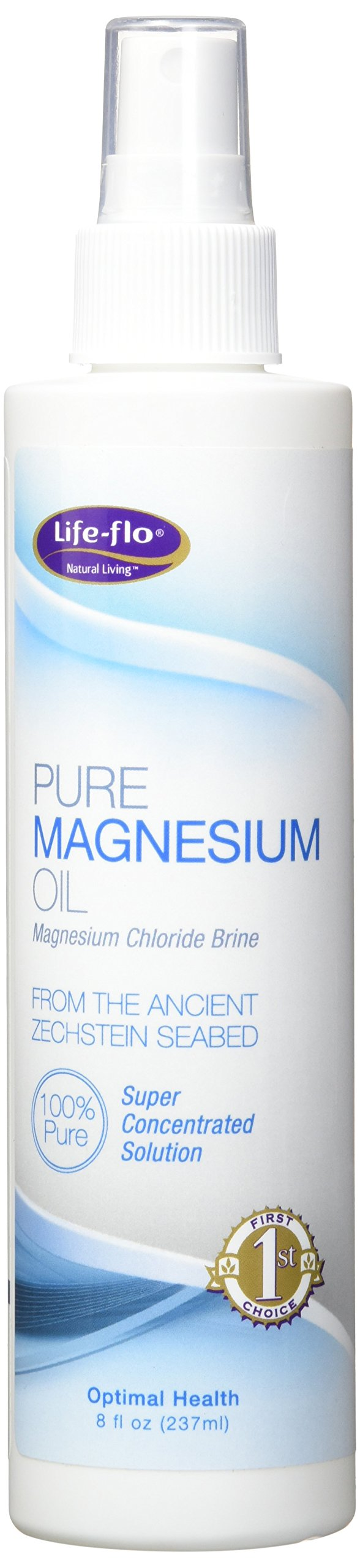 Life-flo Pure Magnesium Oil, 8 Ounce