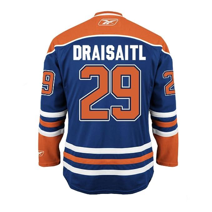 watch 637c3 0a336 Edmonton Leon Jersey Oilers Draisaitl Home bandwidth ...
