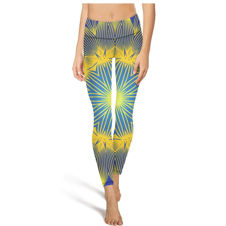TONGZIRT Womens high Waisted Leggins Abstract Star Field Galaxy Yoga Pants Popular Dance Leggings