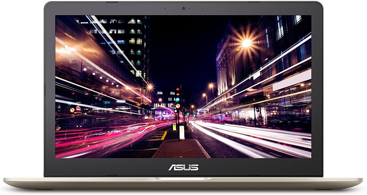"Newest Asus VivoBook PRO 15.6"" 4K UHD Touchscreen Business/ Gaming Laptop, Intel Quad-Core i7-7700HQ 16GB DDR4 256GB SSD+2TB HDD NVIDIA GeForce GTX 1050 Backlit Keyboard Fingerprint USB Type-C Win 10"