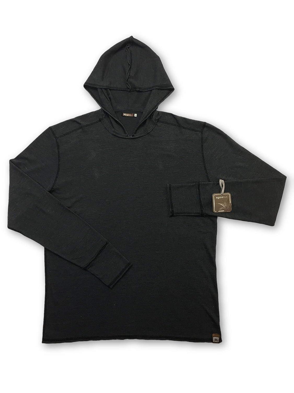 Agave Lux Elderberry Sweatshirt in Grau Größe M Cotton