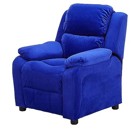 Wood & Style Home - Sillón reclinable de Microfibra para ...