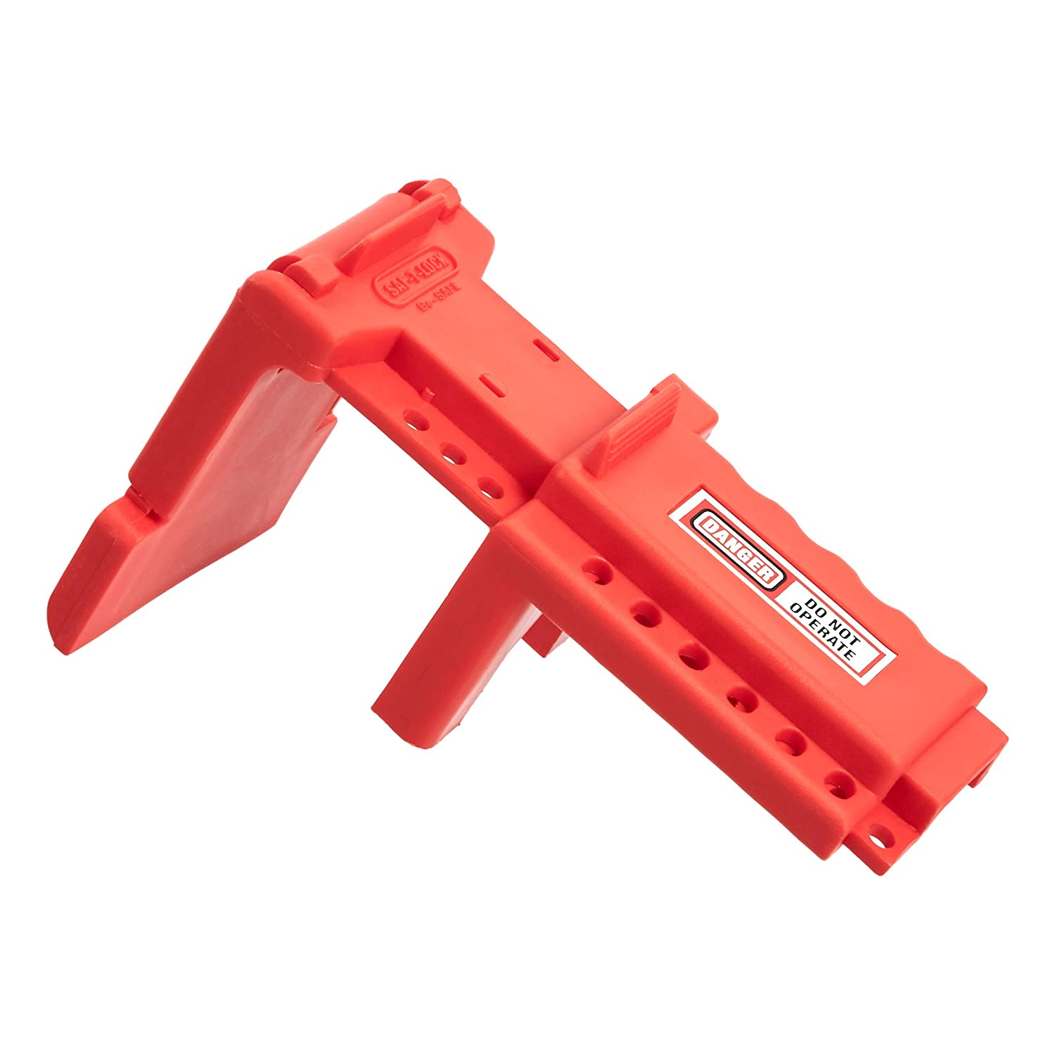 """AmazonCommercial Ball Valve Lockout, For 1.5"""" - 2.5"""" Pipe Diameter"""