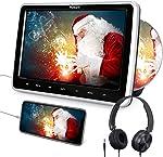 "NAVISKAUTO 10.1"" Car DVD Player with HDMI Input Headphone Headrest Mount"