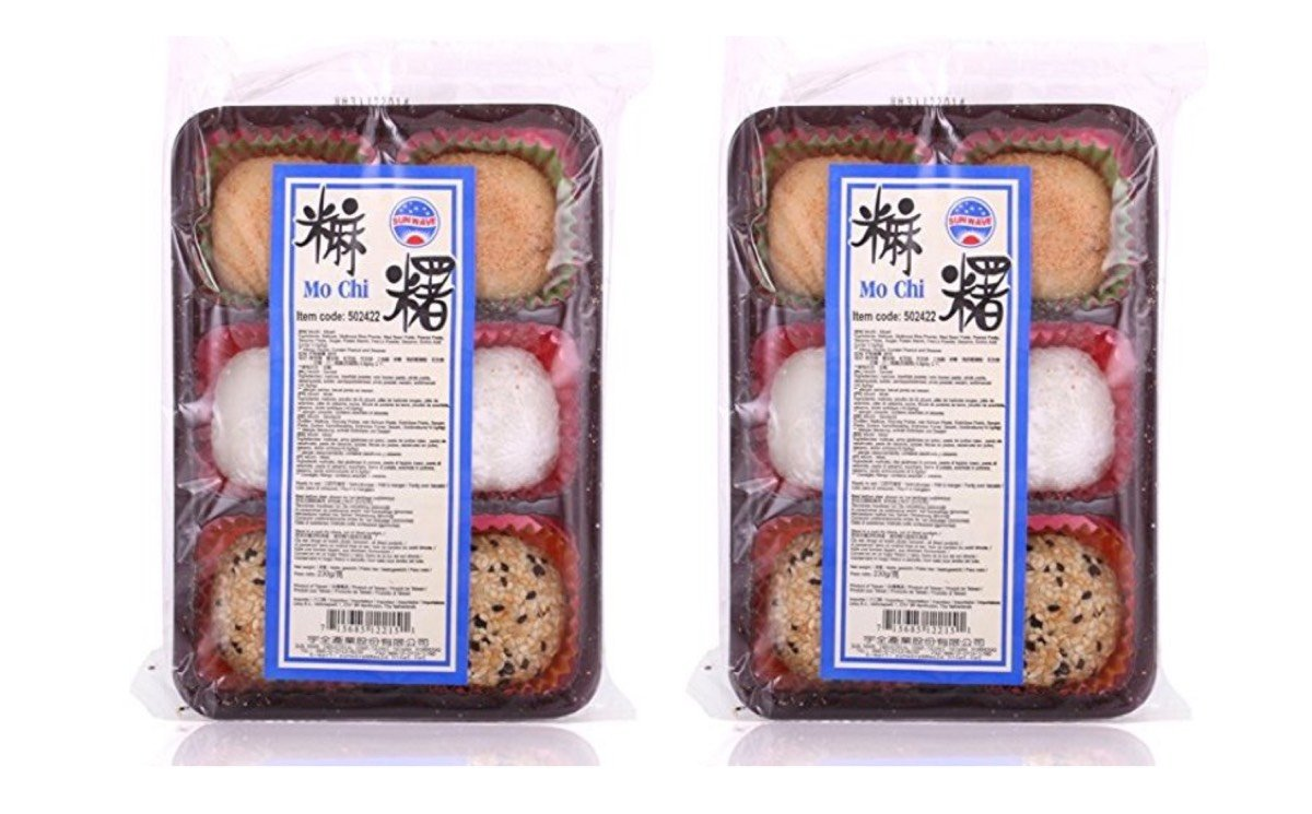 Japanese Style Sweet Rice Cake Mochi Assorted Flavor, 8.1 ounce - 2 Pack