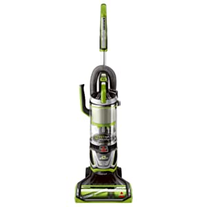 BISSELL Pet Hair Eraser Lift-Off Bagless Upright Vacuum Cleaner Green