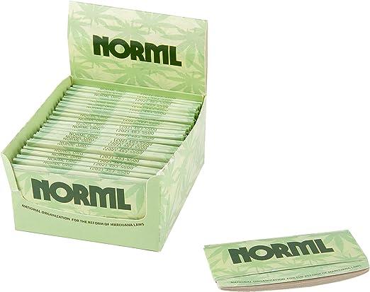 Papel de liar con luces curvas – NORML Org Support – papel curvo – 24 unidades Bulk Display Pack: Amazon.es: Hogar