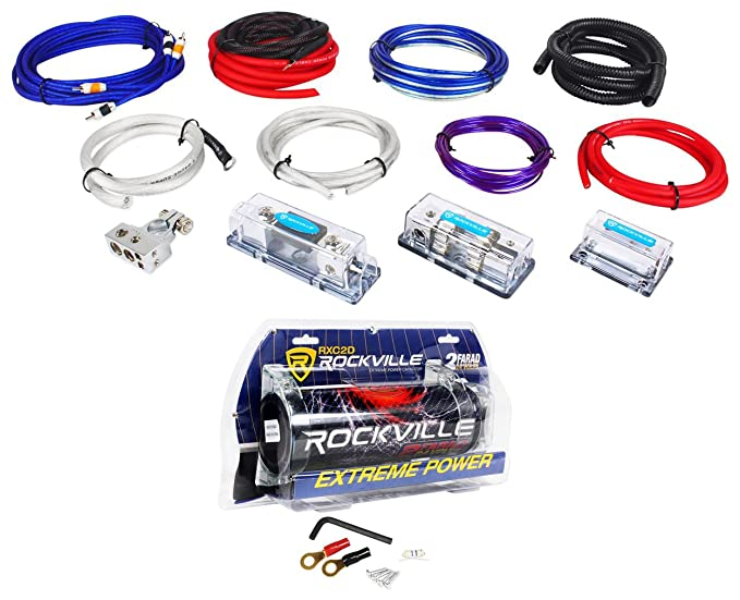 8 Black Power Wire FireWall Snap Grommets Combo Pack 0,2,4,8 Ga AWG Gauge