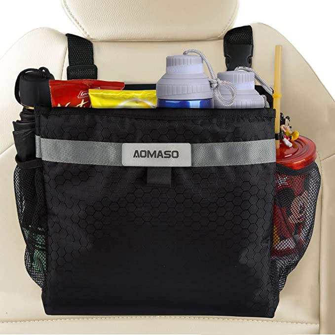 1 opinioni per Aomaso Car Garbage Can,Best Auto Trash Bag for Litter, FREE Waste Basket Liners-