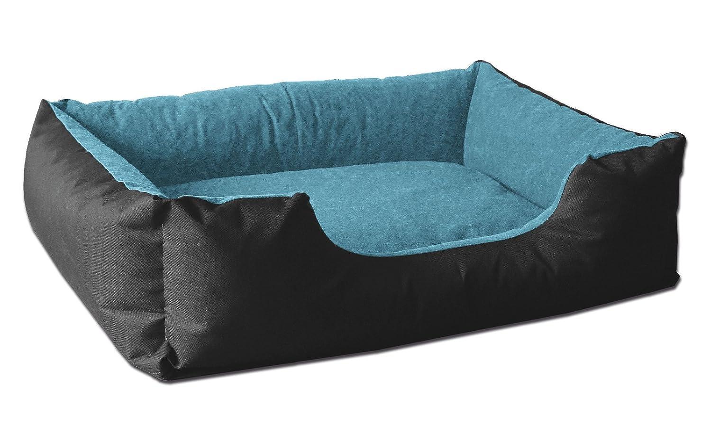 BedDog colchón para Perro LUPI S hasta XXXL, 24 Colores, Cama para Perro, sofá para Perro, Cesta para Perro, XL Negro/Azul: Amazon.es: Productos para ...