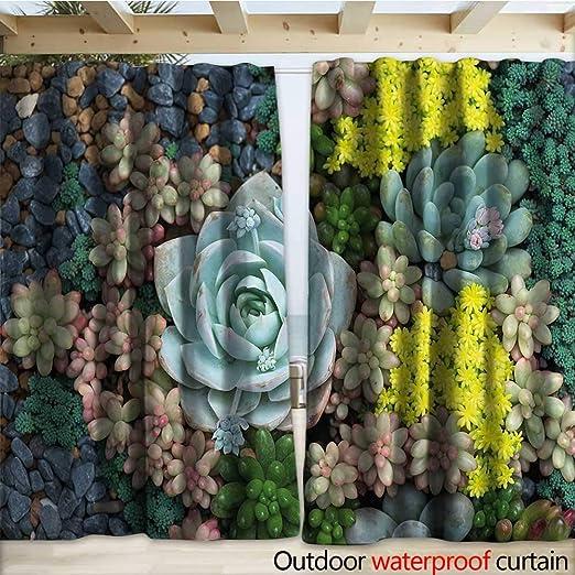 warmfamily Pérgola de Patio con Rayas Verticales, Bandas Coloridas Retro con Efectos de daño, Pantalla desgastada de Moda Antigua W108 x L96 Multi: Amazon.es: Jardín