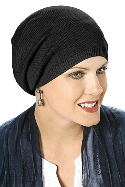 3b16de0e2 Headcovers Unlimited Slouchy Soft Hat - Cancer Beanie Cap: Serendipity  Chemo Cap for Women