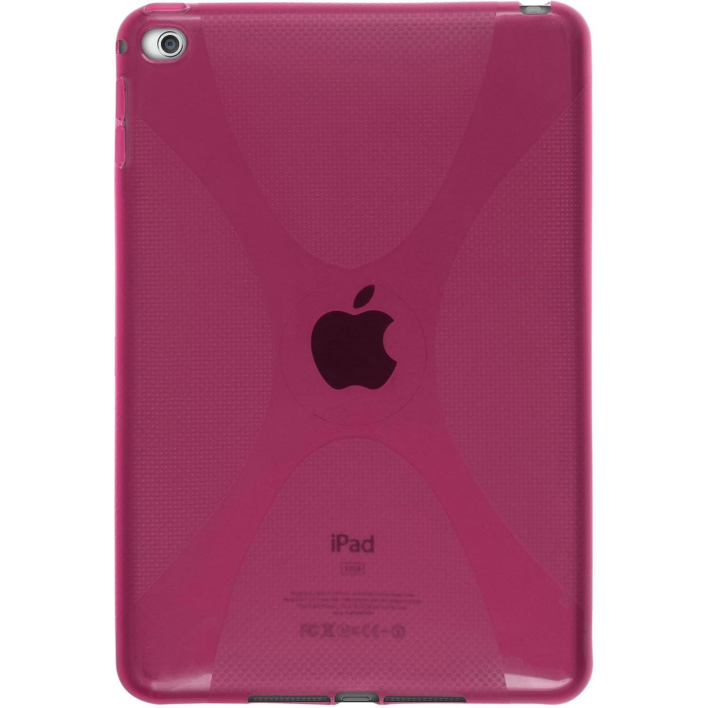 2 Schutzfolien blau Silikon H/ülle X-Style PhoneNatic Case kompatibel mit Apple iPad Mini 4