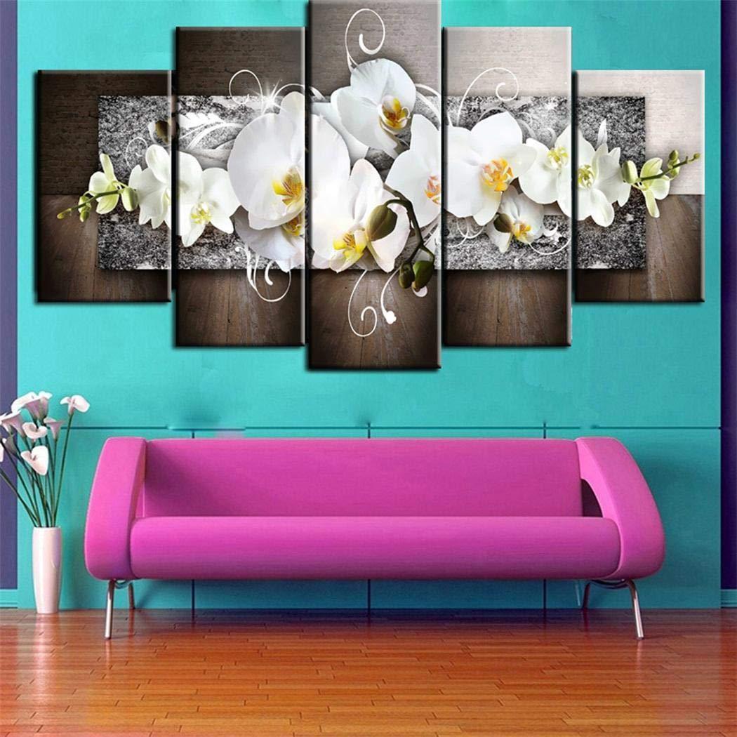 Jintes D/écoration de Mur Moderne dart de pi/èce de Maison dimpression de Peinture de Toile sans Cadre D/écoration de la Maison