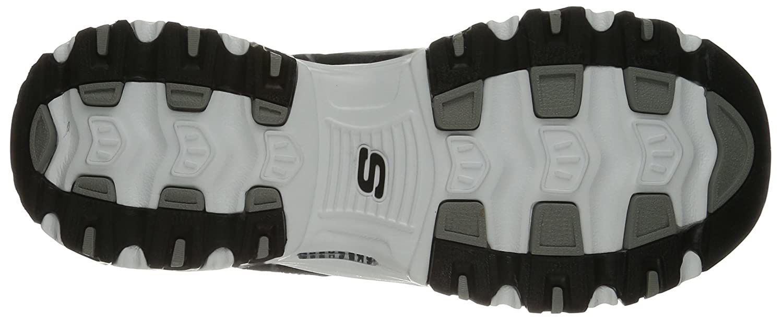 Skechers Sport Women's D'Lites Memory Foam Lace-up Sneaker,Me Time Black/White,10 W US B01AHM12G6 Parent
