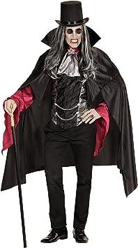Widmann 07152 Disfraz de vampiro para adultos, negro, XL ...