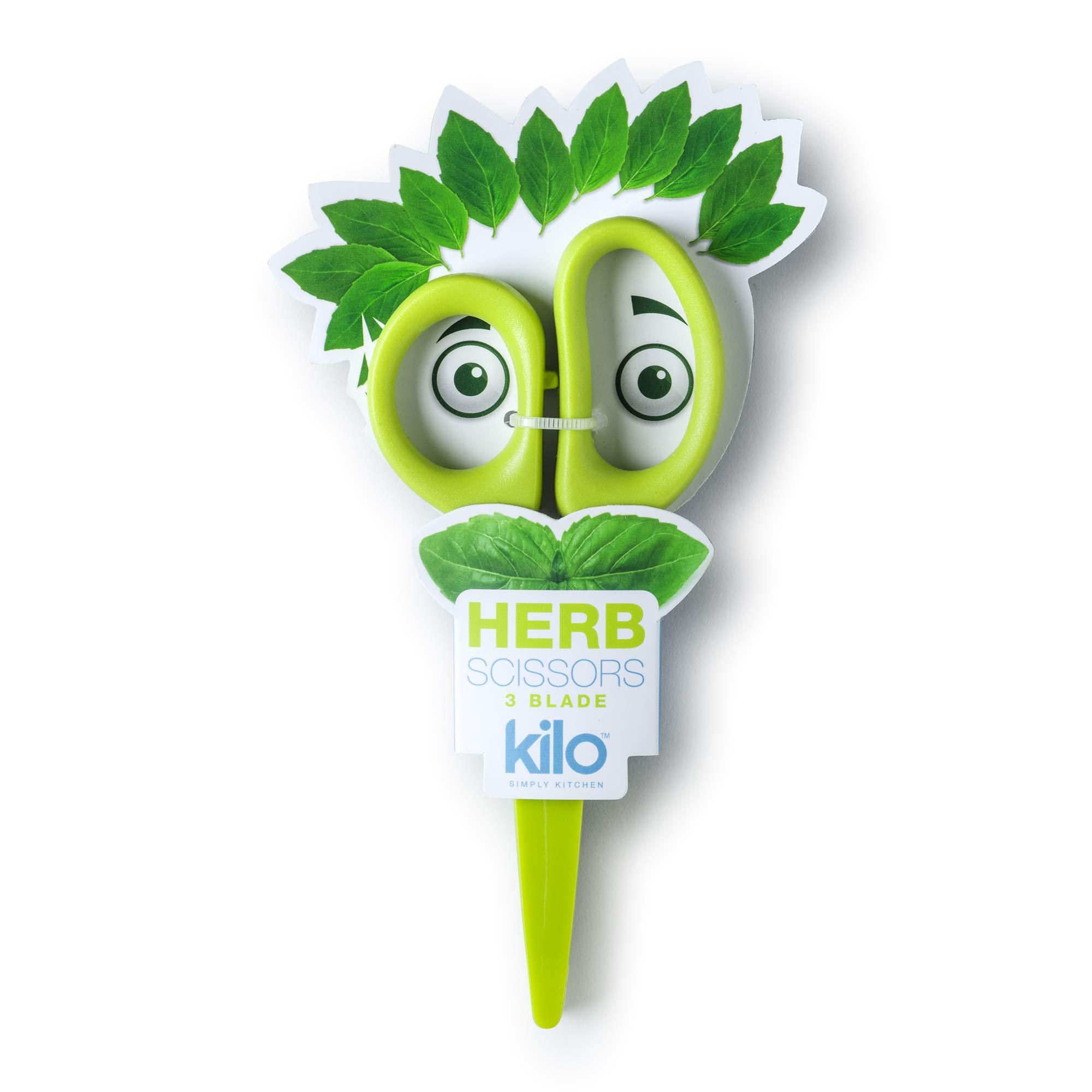 Kilo 3 Blade Mini Herb Scissors
