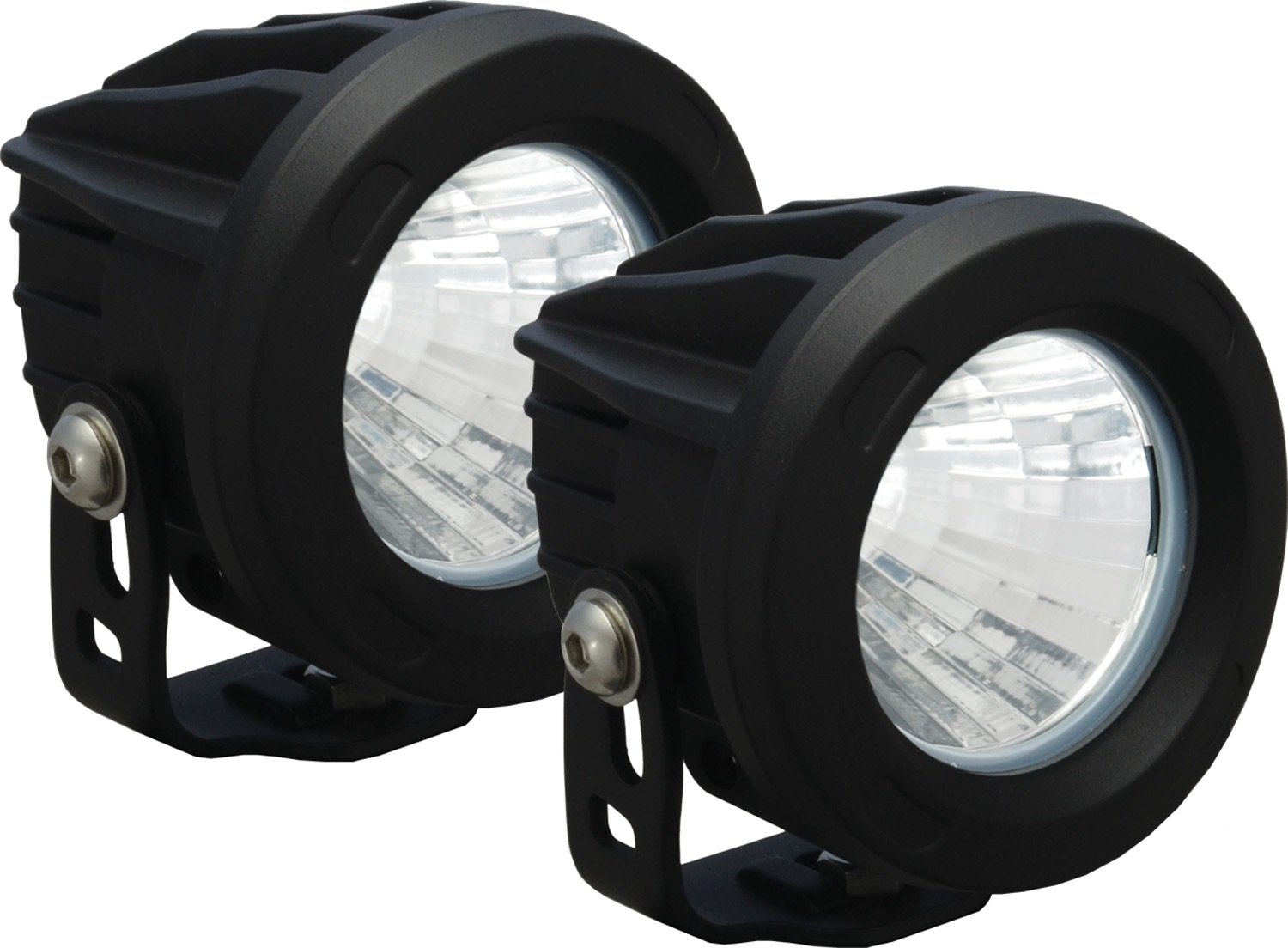 Amazon.com: Vision X Lighting 9141343 Optimus Black Round 10W Narrow LED  Light   Pair: Automotive