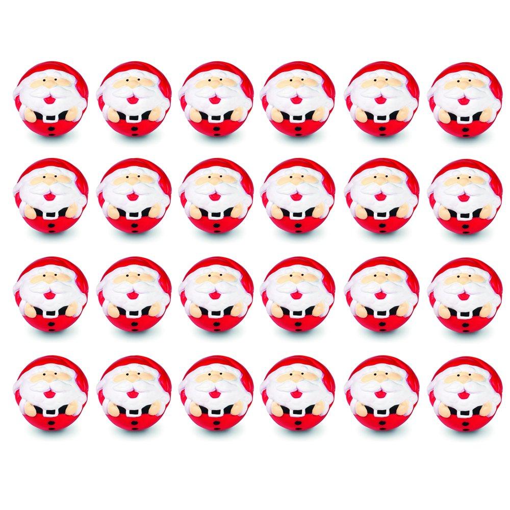Santa Claus 24 eBuyGB Weihnachtsspielzeug aus Schaumstoff, Schaumstoff, Santa Claus, 24