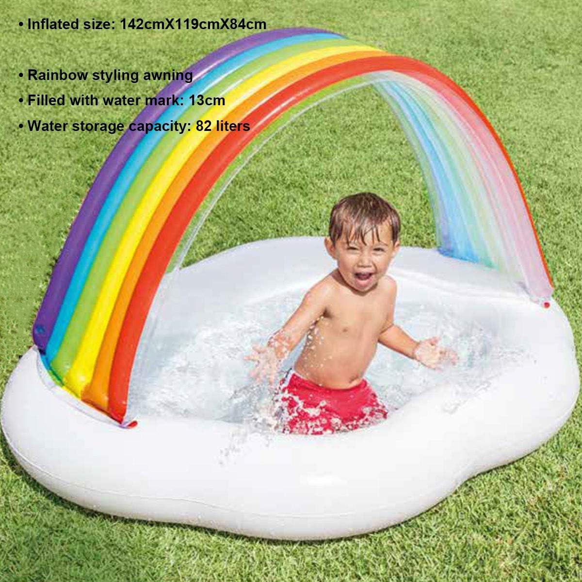 Piscina Para Bebés Rainbow, Piscina Para Bebés Inflable, Piscina ...