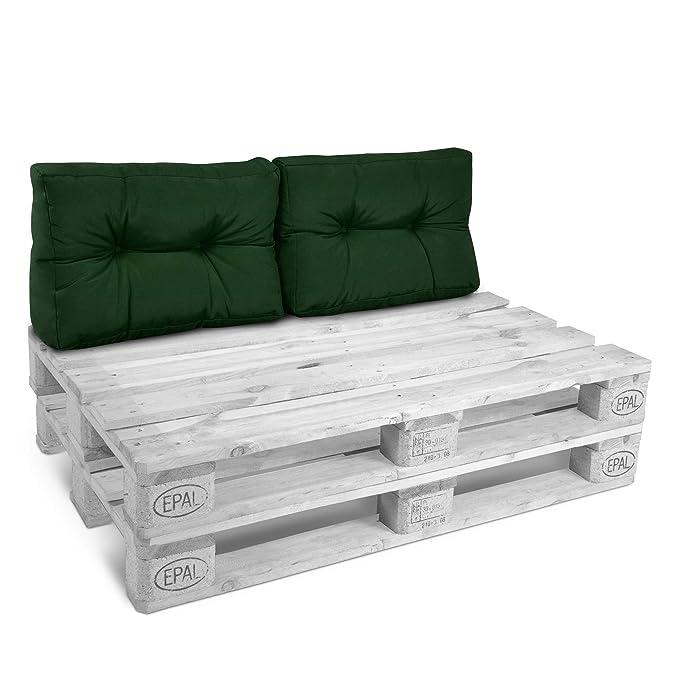 Beautissu Cojines para palés/sofá-palé y Europalés Eco Style ...