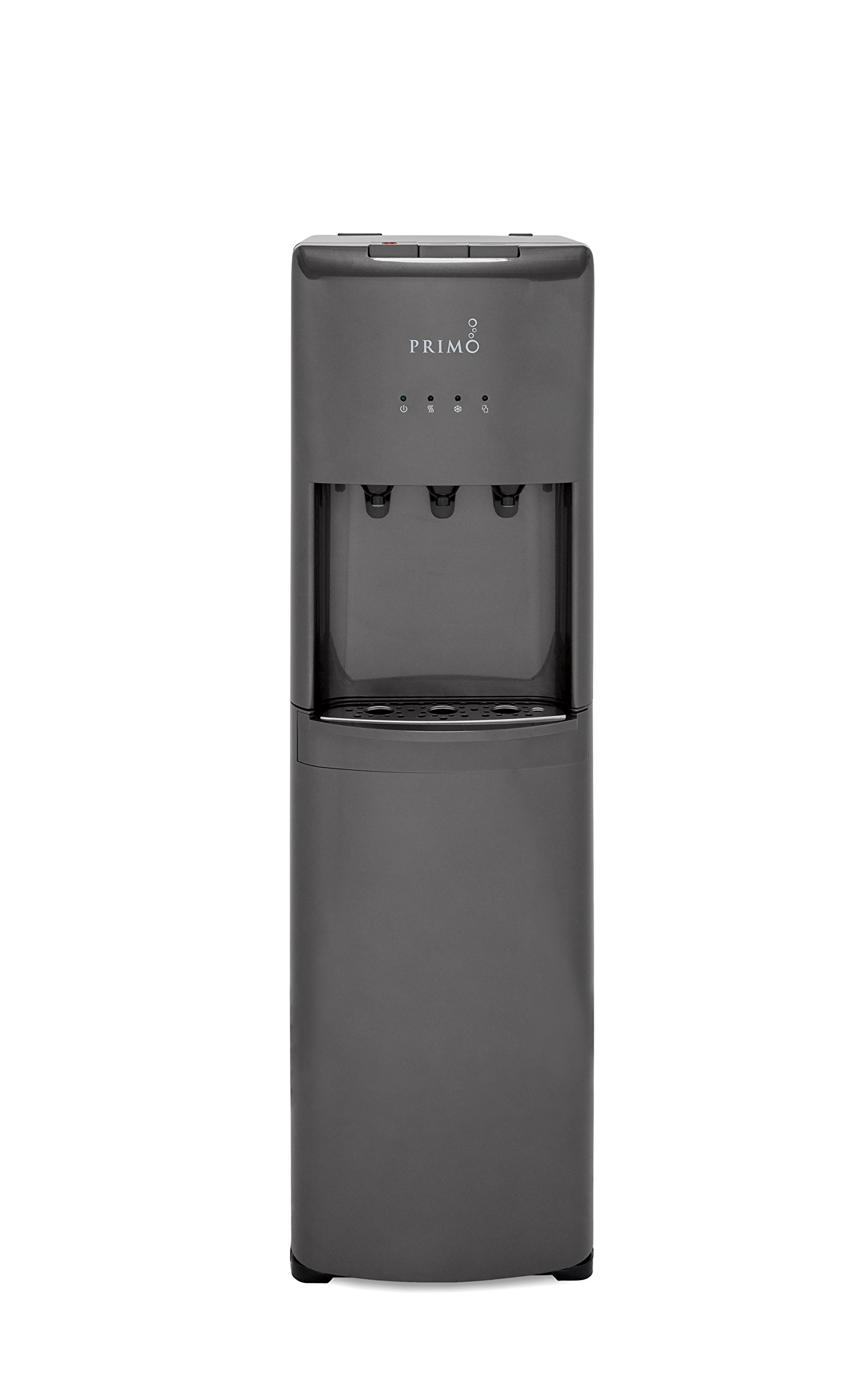 Primo Pewter 3 Spout Bottom Load Hot, Cold and Room Water Cooler Dispenser