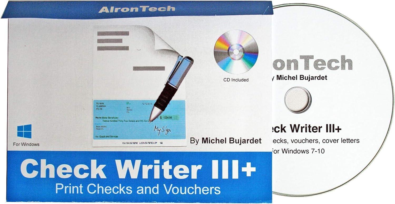 Check Writer III+ for Windows