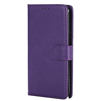 DENDICO Funda Galaxy Note 3, Ultra-Fina Flip Libro Carcasa de Cuero, Piel Protección Cover para Samsung Galaxy Note 3 - Morado