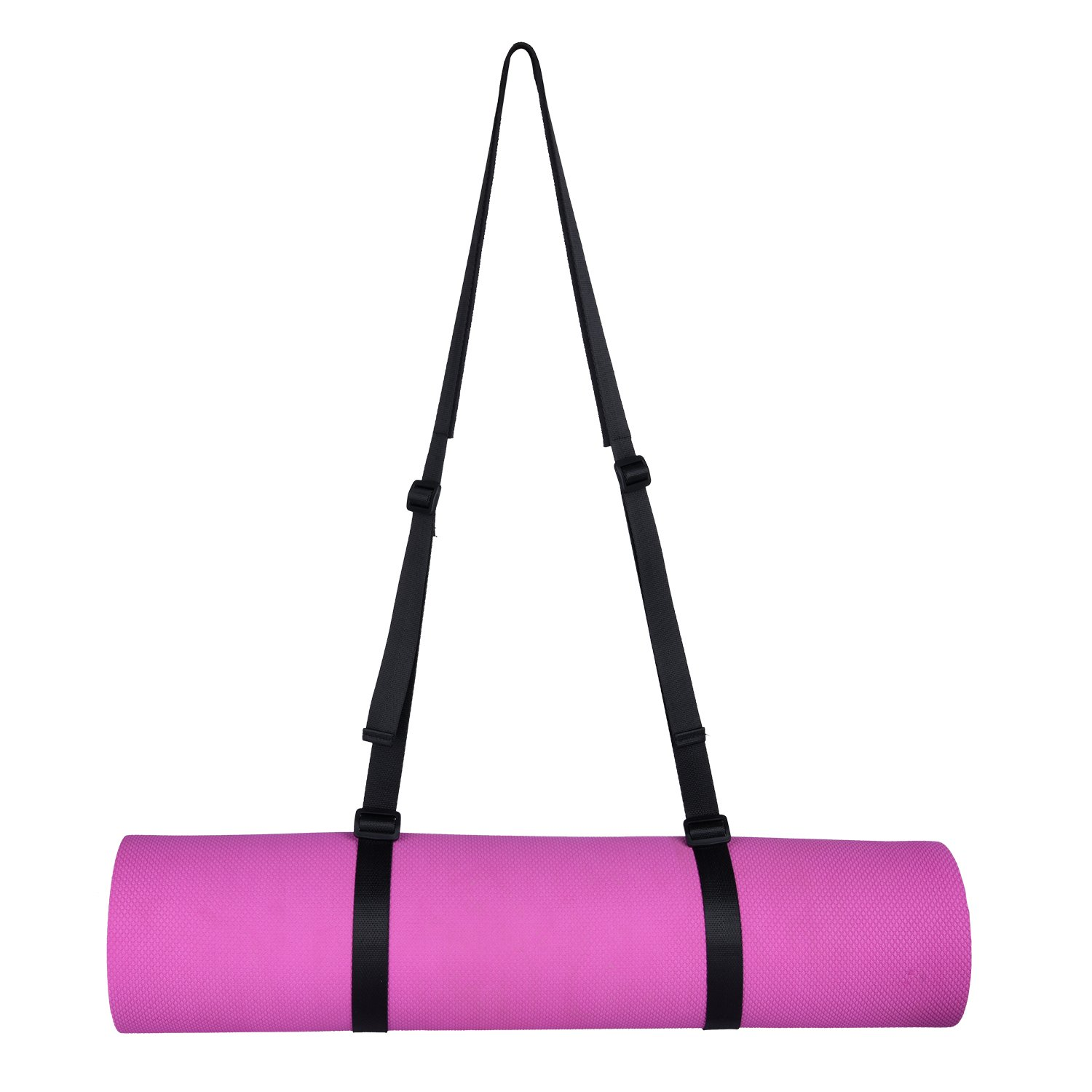 Matymats Non Slip TPE Yoga Mat with Carry Strap for Pilate Gymnastics Bikram Meditation Towel- High Density Thick 1/4\'\' Durable Mat 72\