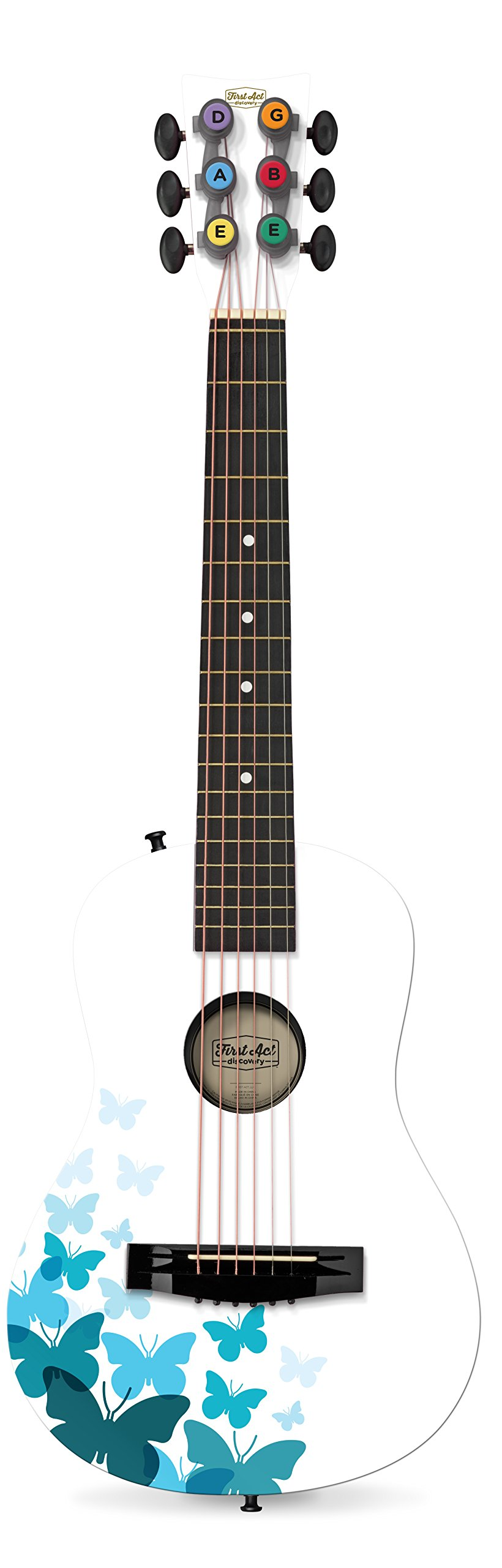 First Act White Butterfly 30'' Acoustic Guitar