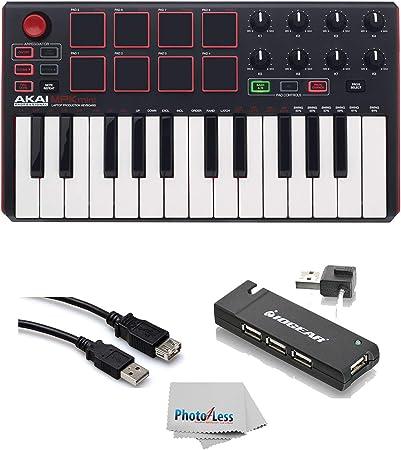 Akai Professional MPK MINI MK2 MKII: controlador de teclado y ...