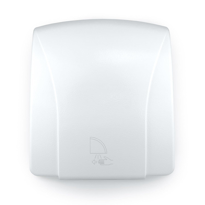 1800 Watt GSX Automatic Hand Dryer Electric Powerful Drier Warm Air White