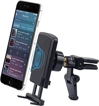 Magnetic Car Phone Mount Updated Version for Any Smartphone Universal Cradle Stand Holder Magnet Car Phone Mount Perfect for Car Cell Phone Rings