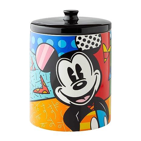 Disney Cookie Jars Amazon Com >> Amazon Com Enesco 6004975 Disney By Britto Mickey Mouse Cookie Jar