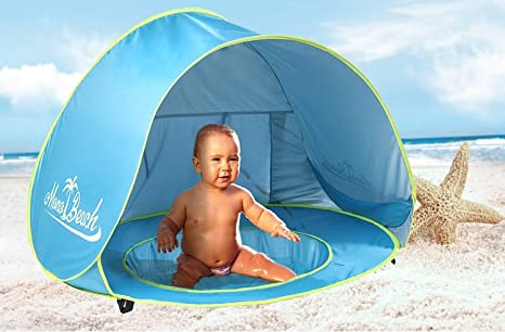 Monobeach Baby Beach Tent Pop Up Portable Shade Pool UV