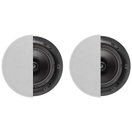 Amazon Com Q Acoustics 6 5 In Ceiling Speakers Pair