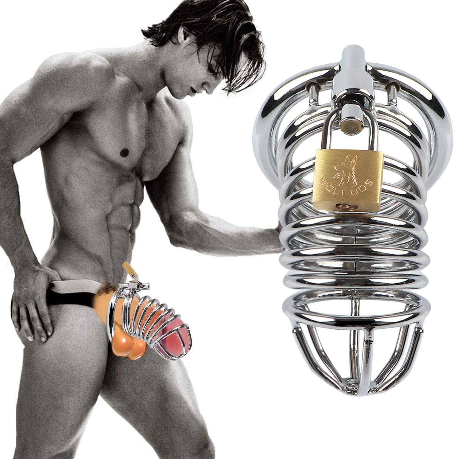 4.5 Inch Waterproof Sturdy Metal Steel Body Play Soft Products for Men