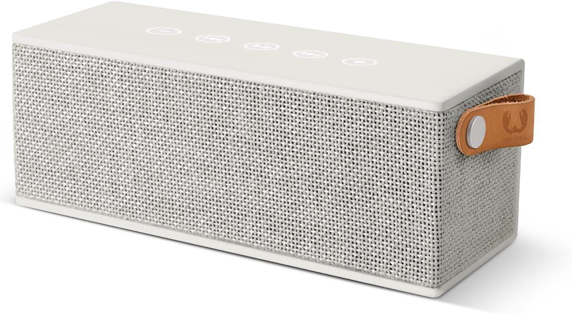 Fresh'N Rebel Rockbox Brick - Altavoz portátil con Bluetooth, color blanco