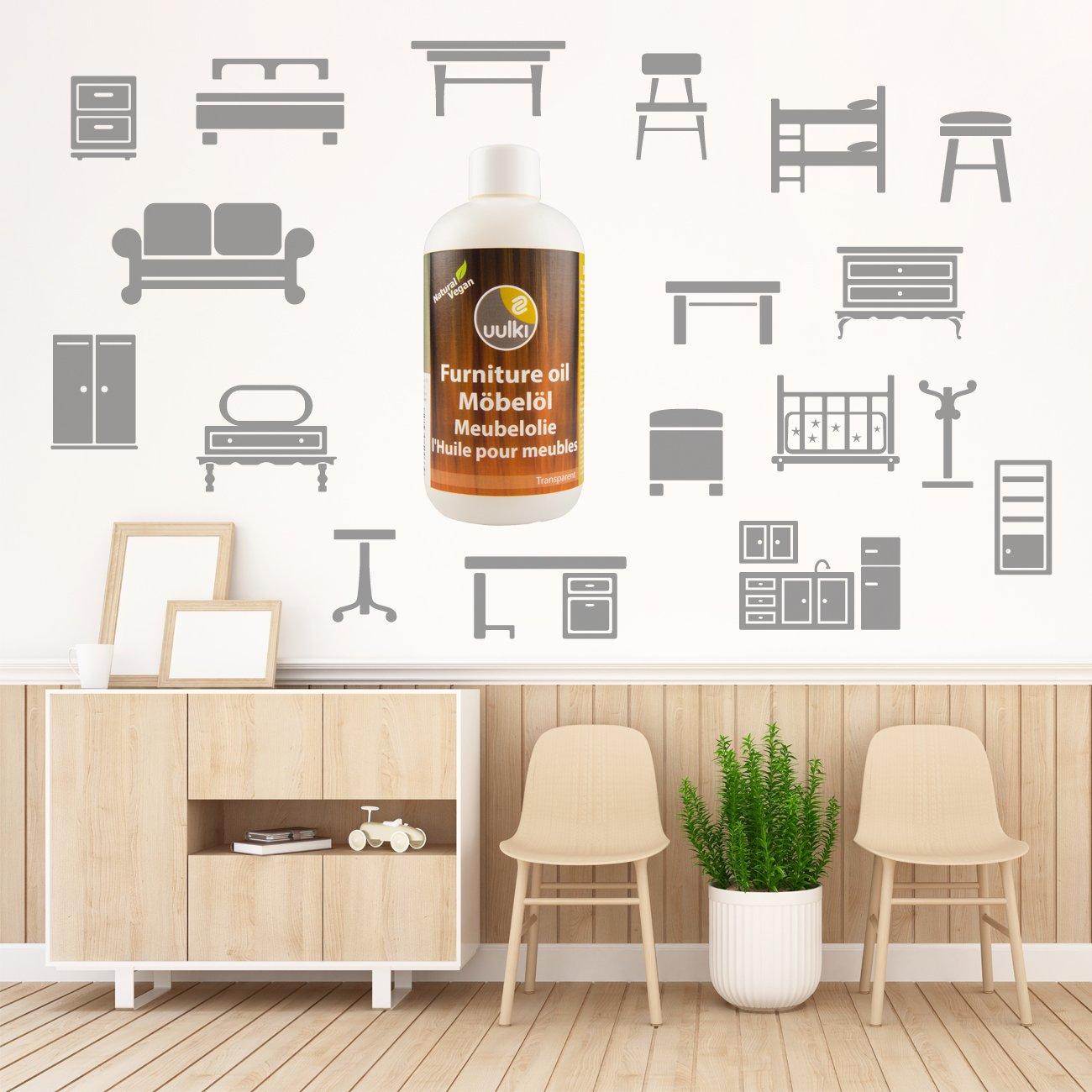 Uulki Aceite Natural Aceite Para Muebles Muebles De Madera  # Muebles Veganos