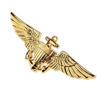 Fosco R/éplique WW2 US Army Arm/ée De LAir Col Officier Insignes Am/éricain Badge Ailes