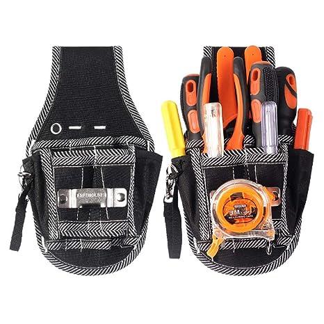 Pequeño bolsillo para herramientas con cinturón de nailon ...