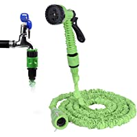 Garden Hose Pipes, 25FT/50FT 3 Times Automatic Expanding Flexible Lightweight Hose Pipes with 7 Spraying for Cleaning…
